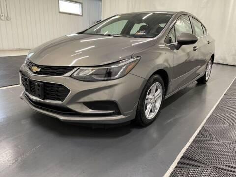 2018 Chevrolet Cruze for sale at Monster Motors in Michigan Center MI