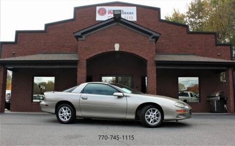 2002 Chevrolet Camaro for sale at Atlanta Auto Brokers in Cartersville GA