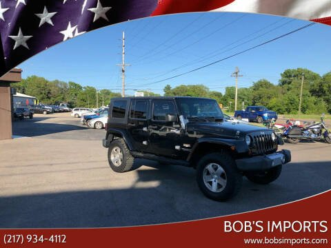2008 Jeep Wrangler Unlimited for sale at Bob's Imports in Clinton IL