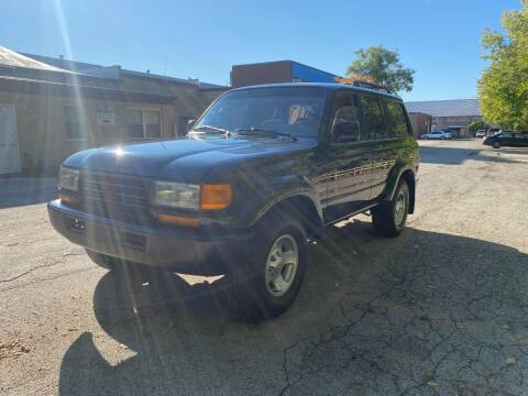 1995 Toyota Land Cruiser for sale at SPECIALTY VEHICLE SALES INC in Skokie IL