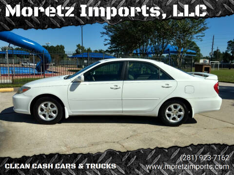 2002 Toyota Camry for sale at Moretz Imports, LLC in Spring TX