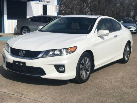 2015 Honda Accord for sale at Discount Auto Company in Houston TX