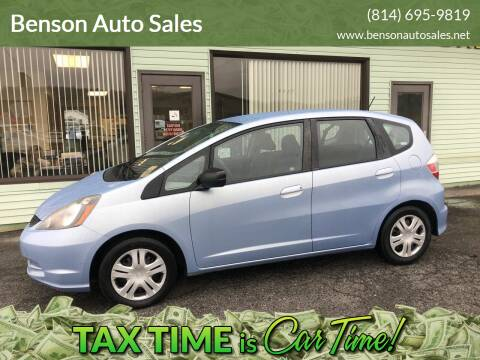 2009 Honda Fit for sale at Superior Auto Sales in Duncansville PA