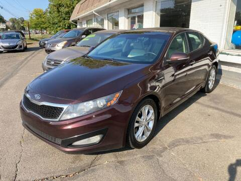 2012 Kia Optima for sale at ENFIELD STREET AUTO SALES in Enfield CT