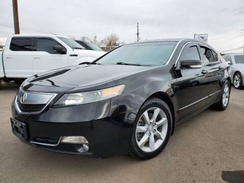 2012 Acura TL for sale at LA Motors LLC in Denver CO
