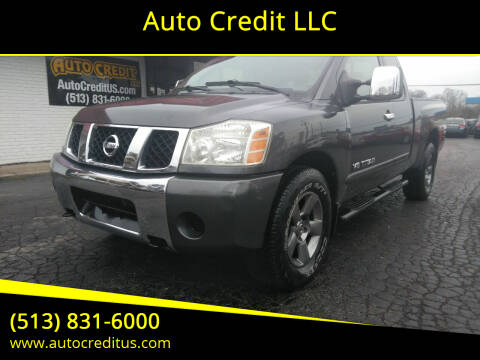 2005 Nissan Titan for sale at Auto Credit LLC in Milford OH