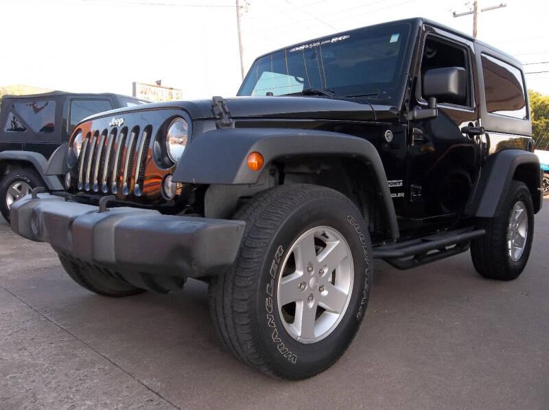 2016 Jeep Wrangler for sale at Broken Arrow Motor Co in Broken Arrow OK