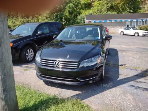 2015 Volkswagen Passat for sale at Riverside Auto Sales in Saint Albans WV