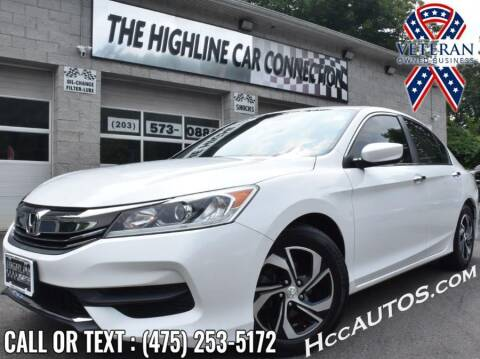 2016 Honda Accord for sale at The Highline Car Connection in Waterbury CT