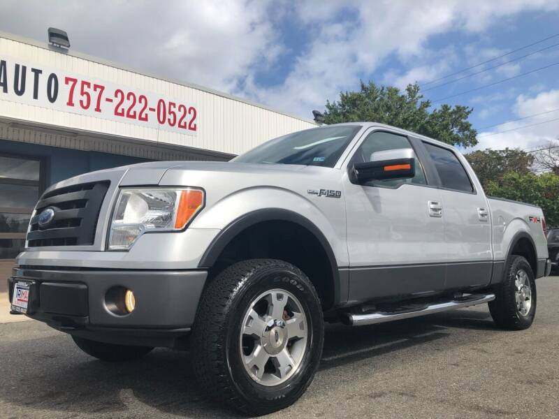 2009 Ford F-150 for sale at Trimax Auto Group in Norfolk VA