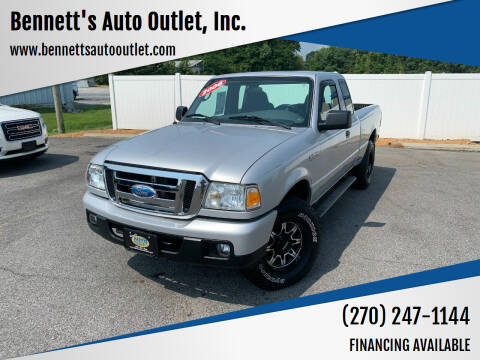 2006 Ford Ranger for sale at Bennett's Auto Outlet, Inc. in Mayfield KY