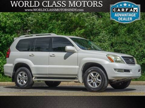 2004 Lexus GX 470 for sale at World Class Motors LLC in Noblesville IN