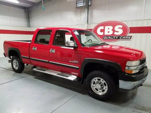 2002 Chevrolet Silverado 2500HD for sale at CBS Quality Cars in Durham NC
