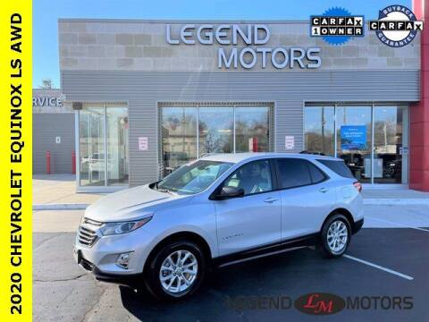 2020 Chevrolet Equinox for sale at Legend Motors of Waterford in Waterford MI