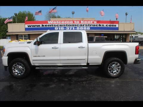 2018 GMC Sierra 2500HD for sale at Kents Custom Cars and Trucks in Collinsville OK