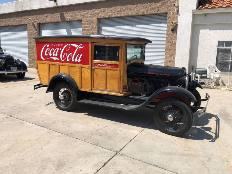 1929 Ford Coca Cola Delivery Truck for sale at HIGH-LINE MOTOR SPORTS in Brea CA