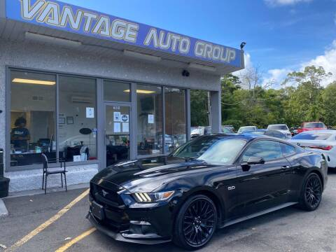 2017 Ford Mustang for sale at Vantage Auto Group in Brick NJ