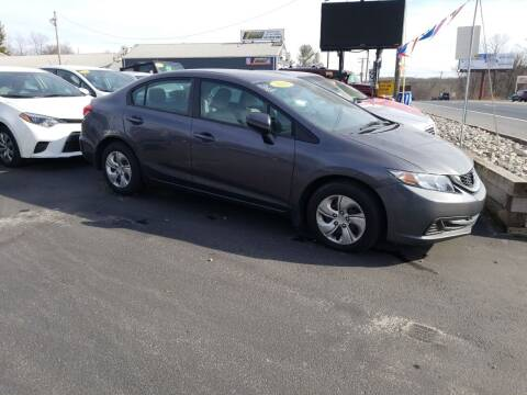 2015 Honda Civic for sale at Hometown Auto Repair and Sales in Finksburg MD