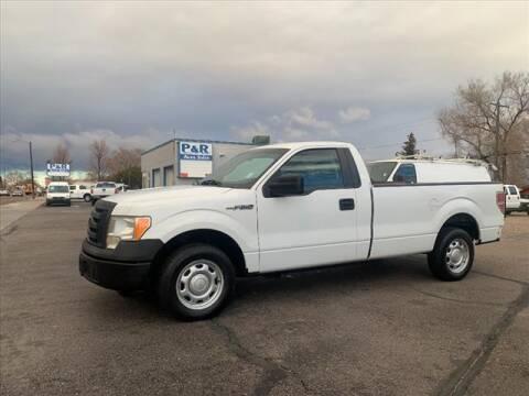 2012 Ford F-150 for sale at P & R Auto Sales in Pocatello ID