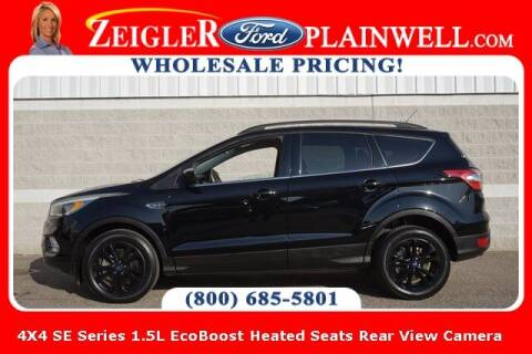 2018 Ford Escape for sale at Zeigler Ford of Plainwell- Jeff Bishop in Plainwell MI