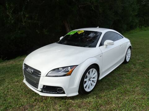 2014 Audi TT for sale at Park Avenue Motors in New Smyrna Beach FL