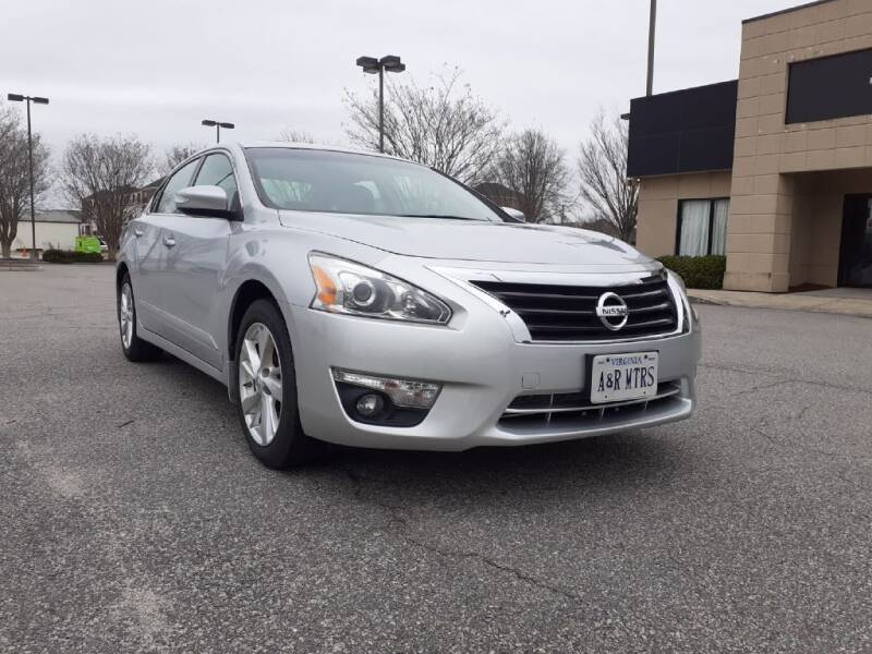 2015 Nissan Altima for sale at A&R MOTORS in Portsmouth VA