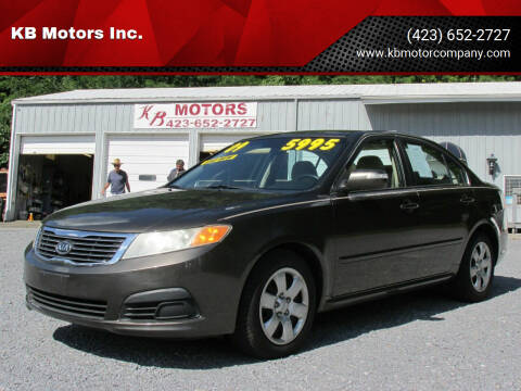 2009 Kia Optima for sale at KB Motors Inc. in Bristol VA