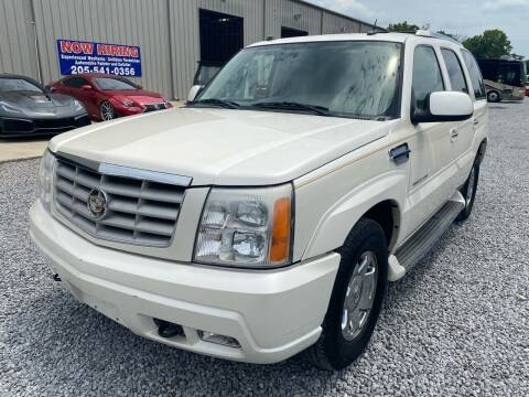 2005 Cadillac Escalade for sale at Alpha Automotive in Odenville AL