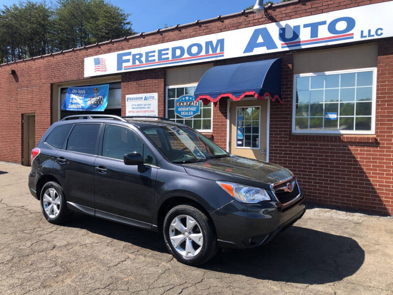 2016 Subaru Forester for sale at FREEDOM AUTO LLC in Wilkesboro NC