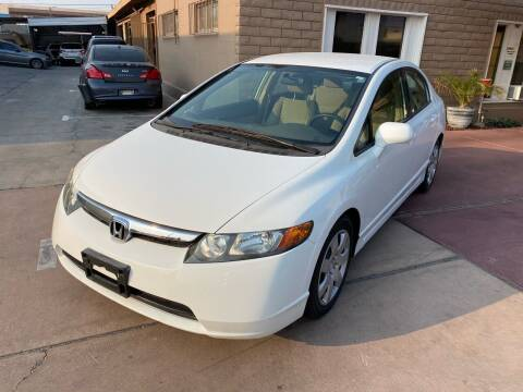 2008 Honda Civic for sale at CONTRACT AUTOMOTIVE in Las Vegas NV