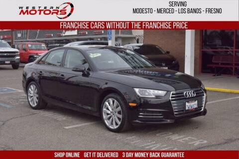2017 Audi A4 for sale at Choice Motors in Merced CA