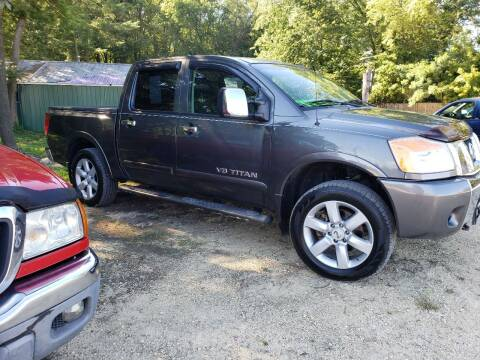 2008 Nissan Titan for sale at Northwoods Auto & Truck Sales in Machesney Park IL