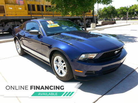 2012 Ford Mustang for sale at Super Cars Sales Inc #1 in Oakdale CA