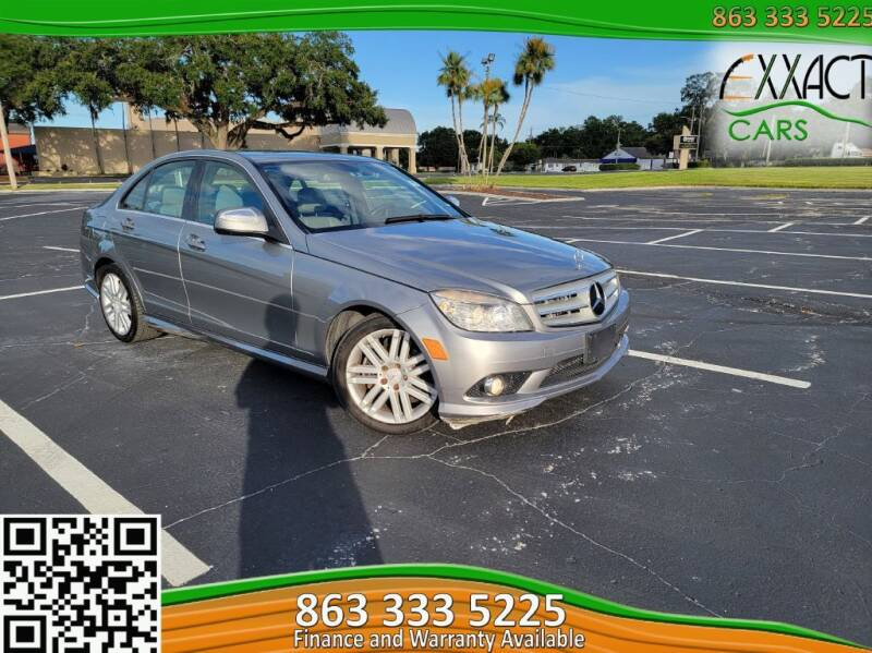 2008 Mercedes-Benz C-Class for sale at Exxact Cars in Lakeland FL