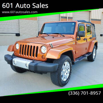 2011 Jeep Wrangler Unlimited for sale at 601 Auto Sales in Mocksville NC