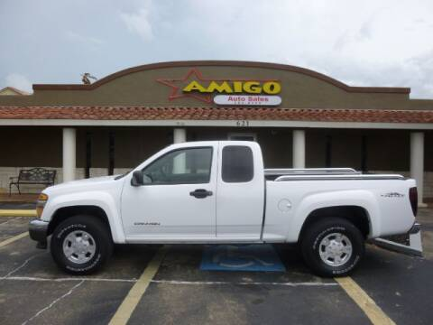 2004 GMC Canyon for sale at AMIGO AUTO SALES in Kingsville TX