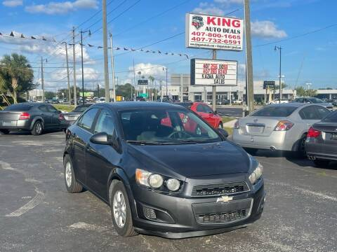 2013 Chevrolet Sonic for sale at King Auto Deals in Longwood FL