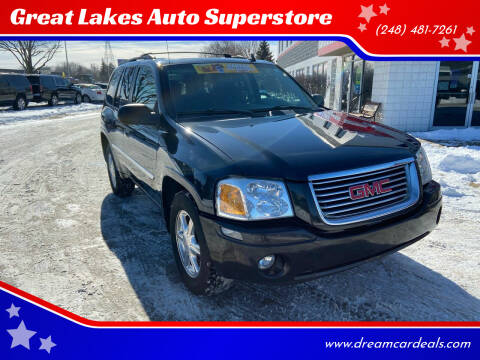 2008 GMC Envoy for sale at Great Lakes Auto Superstore in Pontiac MI