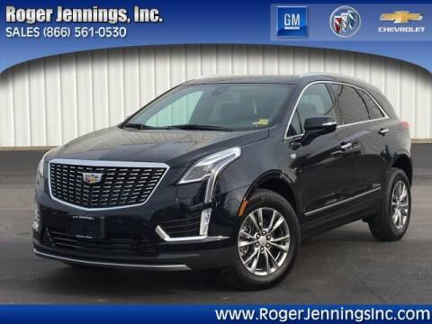 2021 Cadillac XT5 for sale at ROGER JENNINGS INC in Hillsboro IL