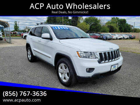 2013 Jeep Grand Cherokee for sale at ACP Auto Wholesalers in Berlin NJ