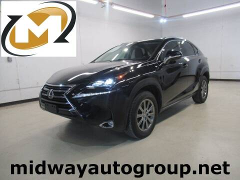 2017 Lexus NX 200t for sale at Midway Auto Group in Addison TX