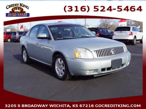 2007 Mercury Montego for sale at Credit King Auto Sales in Wichita KS