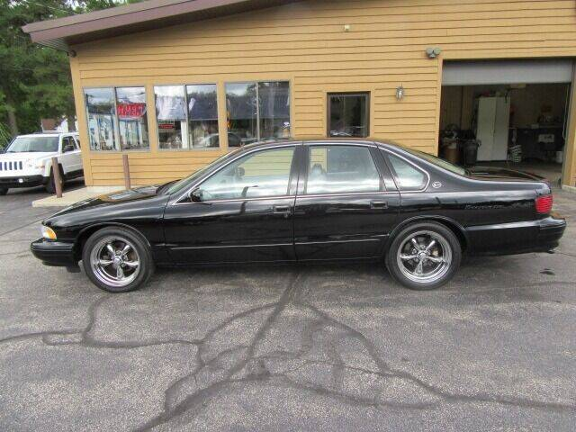 1996 Chevrolet Impala for sale at Bill Smith Used Cars in Muskegon MI