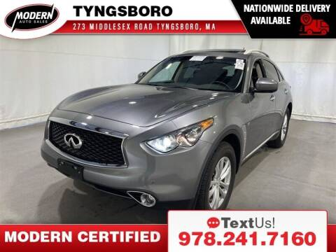 2017 Infiniti QX70 for sale at Modern Auto Sales in Tyngsboro MA
