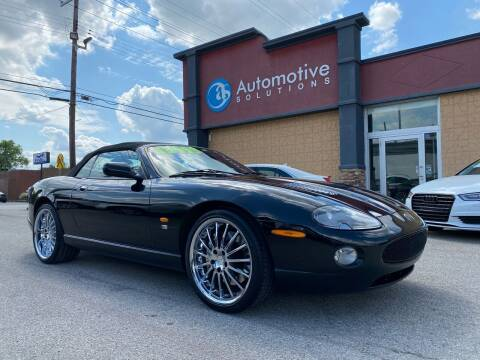 2005 Jaguar XKR for sale at Automotive Solutions in Louisville KY