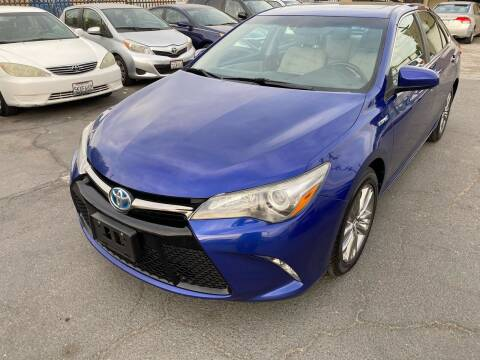 2015 Toyota Camry Hybrid for sale at 101 Auto Sales in Sacramento CA