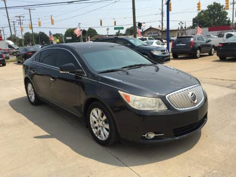 2012 Buick LaCrosse for sale at City Auto Sales in Roseville MI