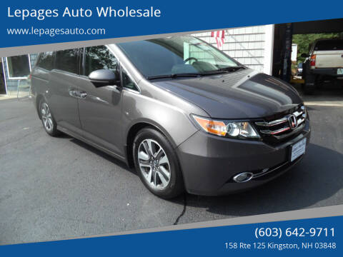 2014 Honda Odyssey for sale at Lepages Auto Wholesale in Kingston NH