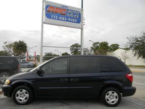 2003 Dodge Caravan for sale at APC Auto Sales in Fort Pierce FL