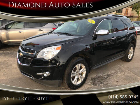 2012 Chevrolet Equinox for sale at Diamond Auto Sales in Milwaukee WI